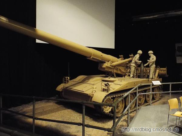 M110A2 8 inch self propelled gun