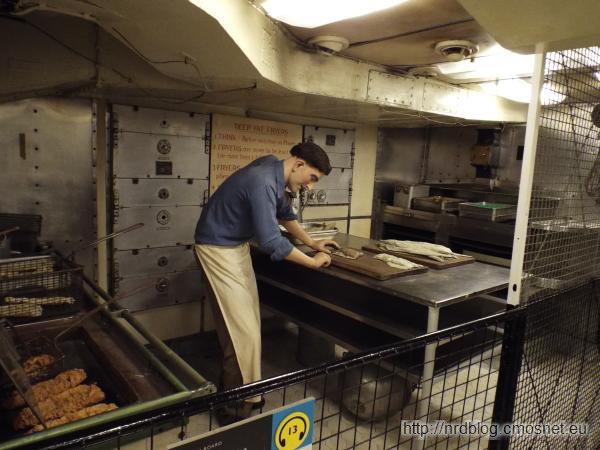 HMS Belfast - kuchnia
