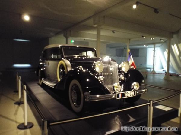 Horch 830 BL którym jeździł Charles de Gaulle