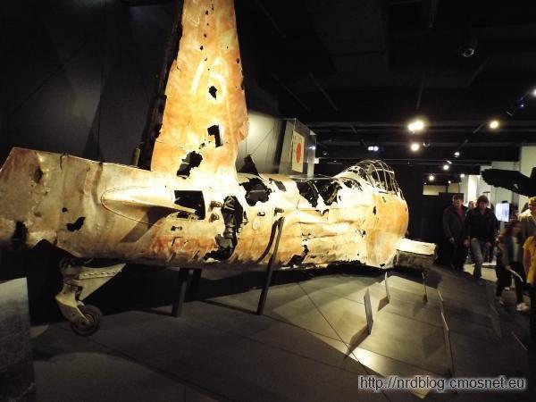Zestrzelony samolot japoński
