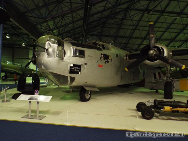 R.A.F. Museum, London - Consolidated Liberator B.VIII