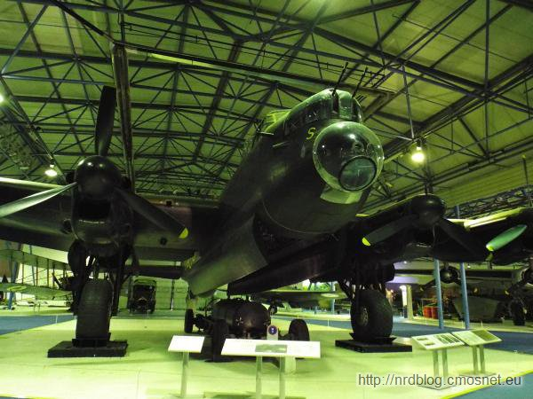 R.A.F. Museum, London - Avro Lancaster