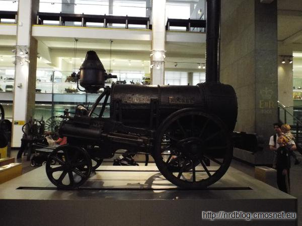 Science Museum London - Rocket