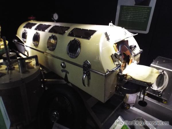 """Science Museum London - """"Żelazne płuco"""""""