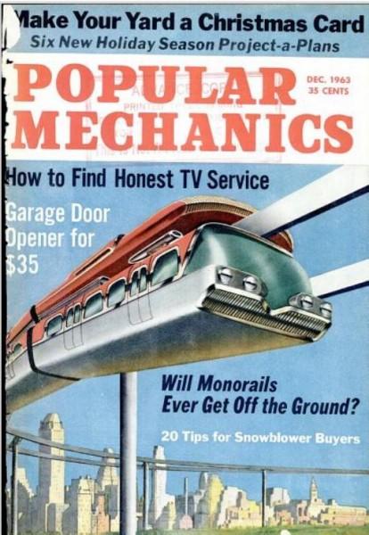 """Okładka pisma """"Popular Mechanics"""""""