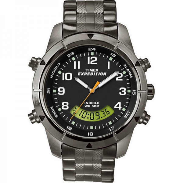 Timex Expedition Metal Combo black
