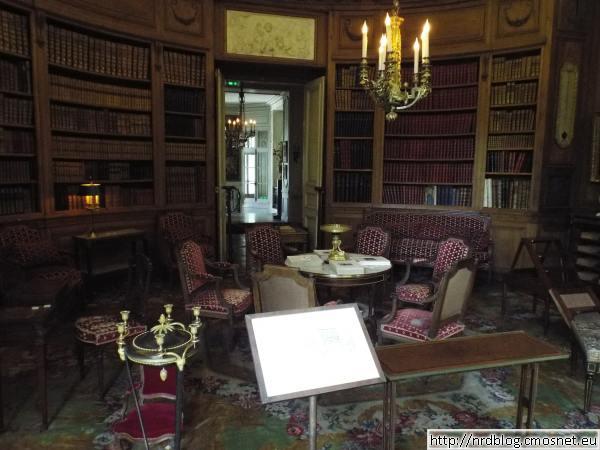 Muzeum Nissim de Camondo - biblioteka