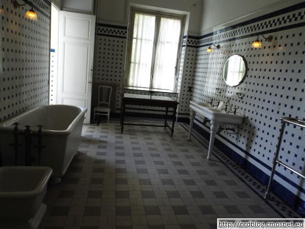 Muzeum Nissim de Camondo - łazienka