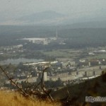 Ilmenau - widok, NRD, 1988
