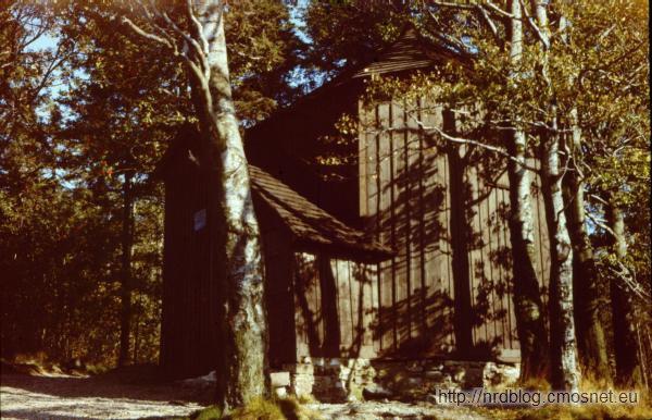 Chatka Goethego na Kickelhahnie, NRD, 1988