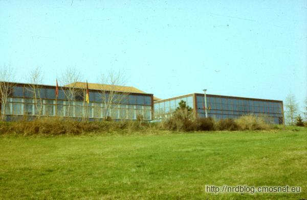 TH Ilmenau - centrum obliczeniowe uczelni, NRD, 1988