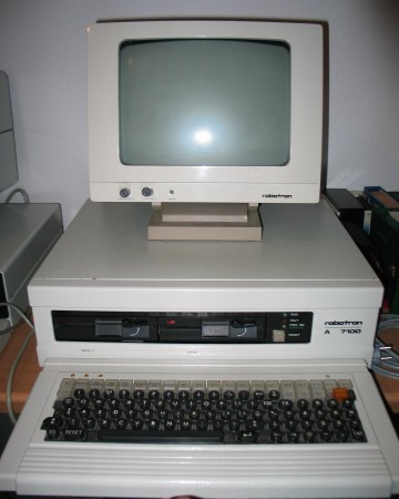 Komputer klasy XT Robotron A7100, NRD, 1985
