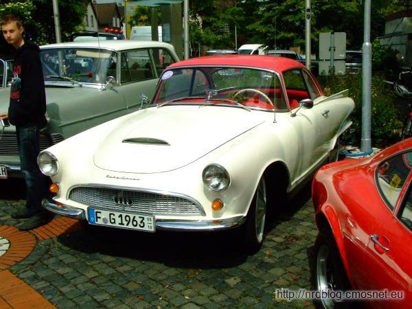 Auto Union 1000 Sp Coupé, Niemcy, 1958-1965