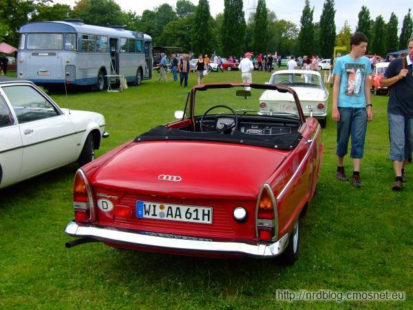 DKW F12 Roadster, Niemcy, 1964