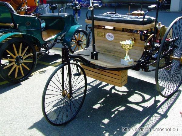 Replika Benz Patent-Motorwagen Nummer 1, 1885