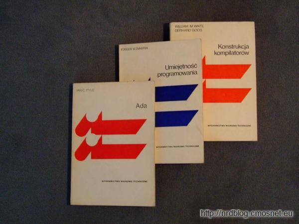 Książki z serii Biblioteka Inżynierii Oprogramowania, PRL