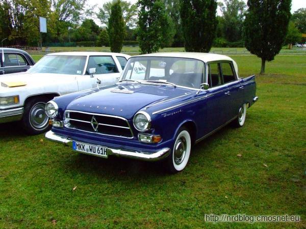 Borgward P100, 1959-1962