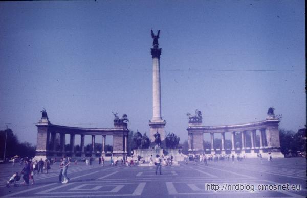Budapeszt w roku 1987