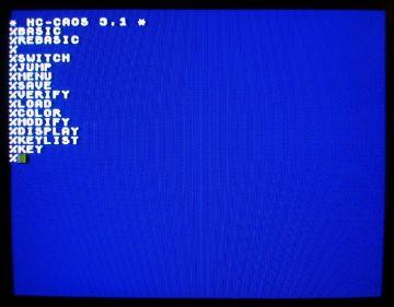 System operacyjny CAOS komputera domowego KC85/2, NRD, 1985