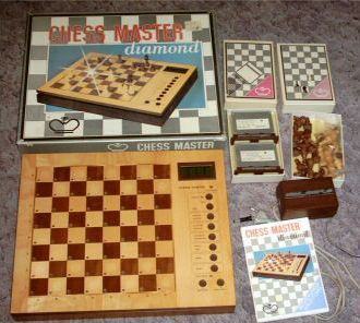 Komputer szachowy Chess Master Diamond, NRD, 1987