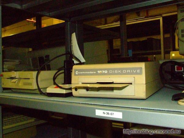 Commodore 1570 disk drive, ok. 1986