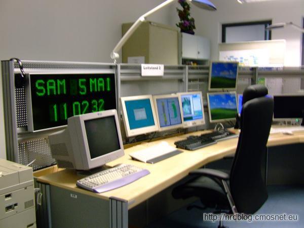 Deutscher Wetterdienst Offenbach - stanowisko kontrolne superkomputera NEC SX-9