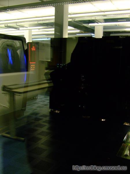 Deutscher Wetterdienst Offenbach - superkomputer NEC SX-9