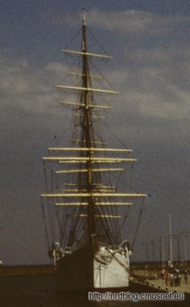 Dar Pomorza, Gdynia, 1988
