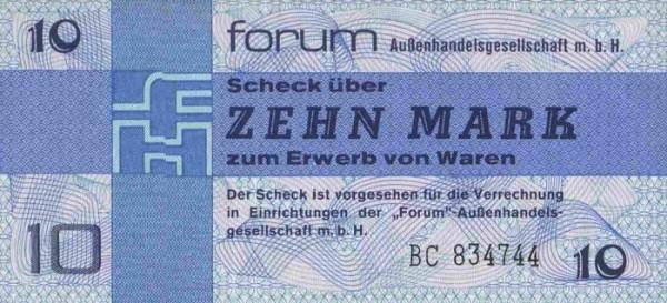 Forum-Scheck