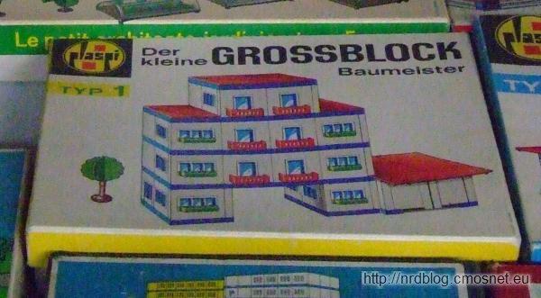 """Klocki """"Der kleine Großblockbaumeister"""" Typ 1, NRD"""