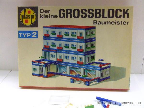 """Klocki """"Der kleine Großblockbaumeister"""" Typ 2, NRD"""