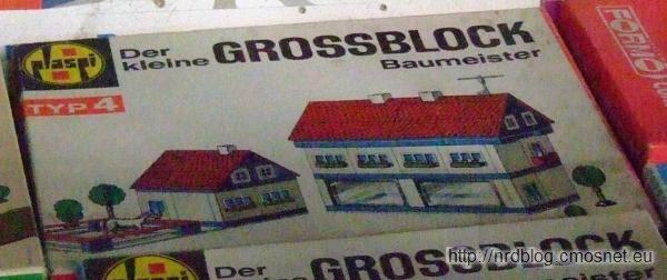 """Klocki """"Der kleine Großblockbaumeister"""" Typ 4, NRD"""