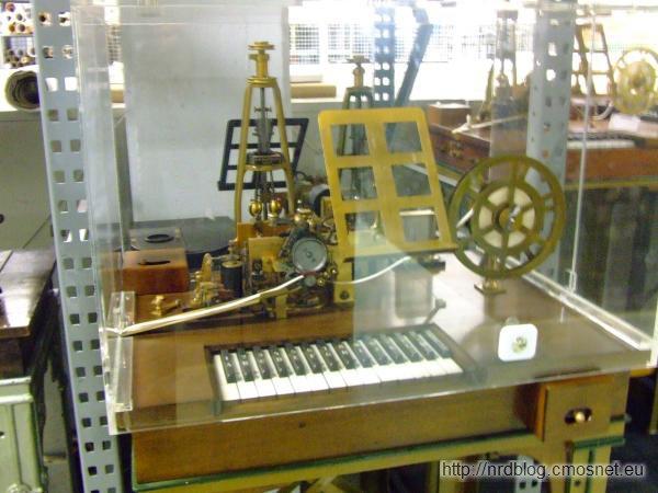Muzeum poczty Heusenstamm - telegraf
