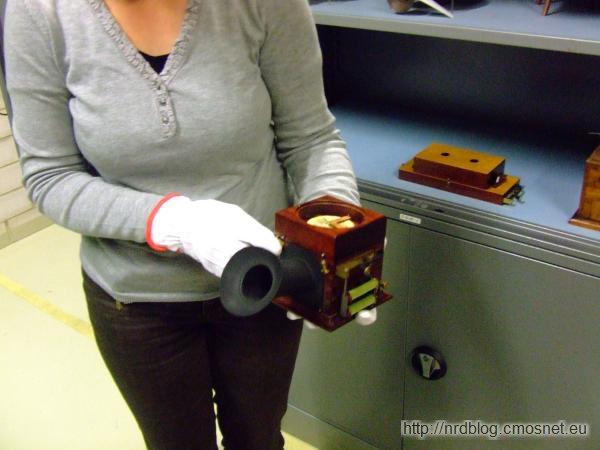 Muzeum poczty Heusenstamm - replika telefonu Reisa