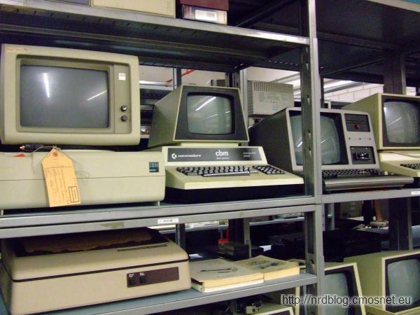 Muzeum poczty Heusenstamm - stare komputery