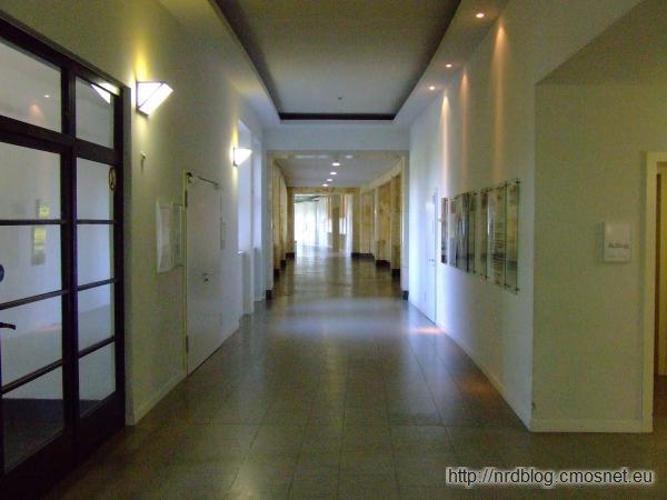 I.G.Farben-Haus korytarz