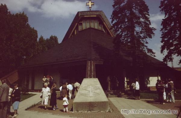 Kościół katolicki w Ilmenau, NRD, 1988