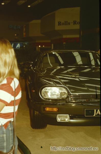 Jaguar na targach IAA 1987