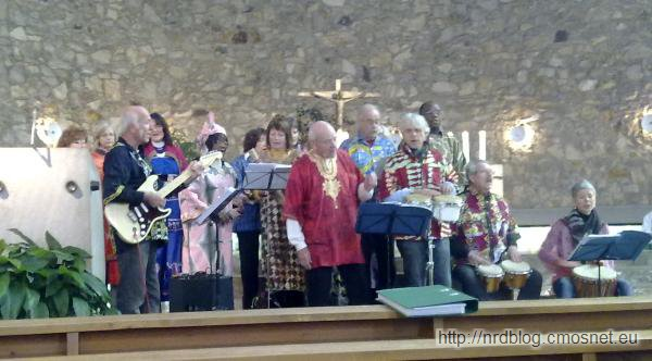 Koncert dla Afryki w parafii St. Wendel, Frankfurt