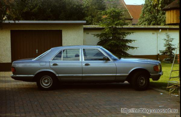 Mercedes W126, Frankfurt, 1987