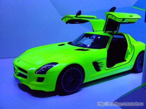 IAA 2011 - Mercedes e-cell