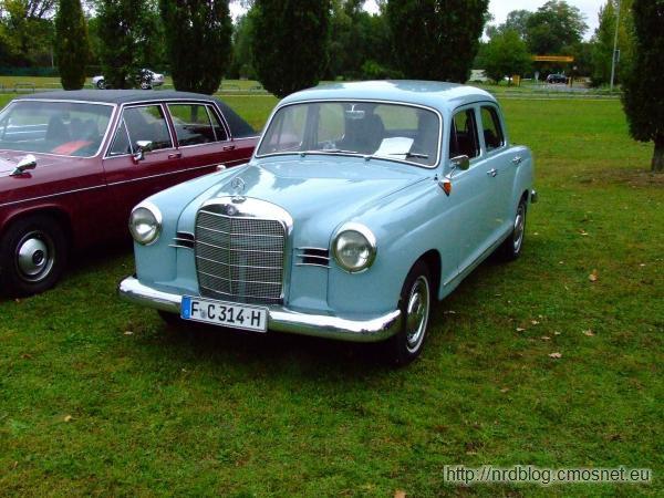 Mercedes-Benz 180 (W 120), 1953–1962
