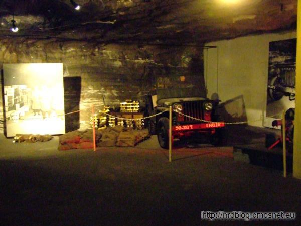 Kopalnia Merkers - komora w której pod koniec wojny ukryto złoto Reichsbanku