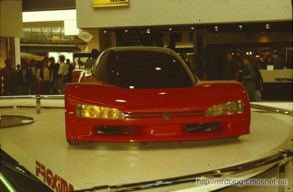 Peugeot Proxima na targach IAA 1987