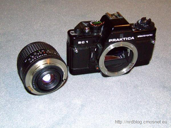 Bagnet aparatu Praktica serii B (NRD)
