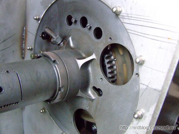 Silnik rotacyjny Gnome z Oberursel
