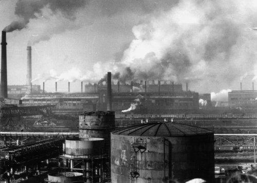 Fabryka brykietów w Espenhain