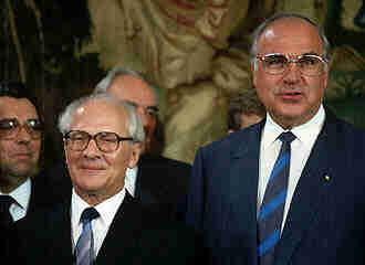 Honecker w RFN, 1987