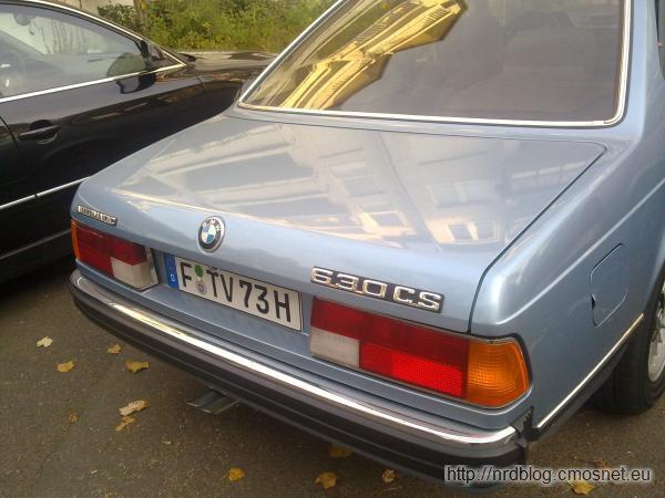 BMW E24 (630 CS) 1975-1979