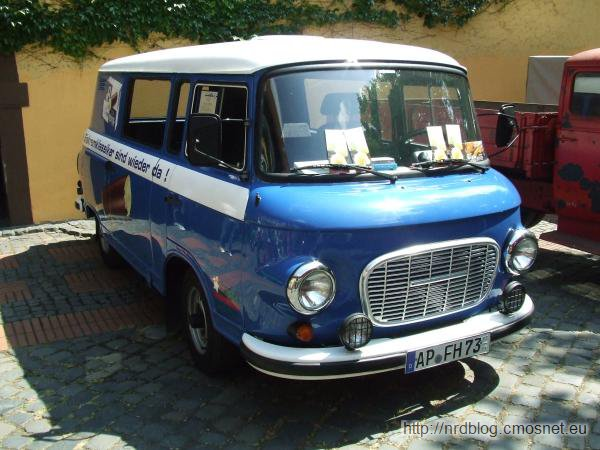 Barkas B1000, NRD, 1961-1989